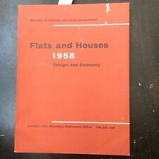 Flats and Houses 1958: Design and Economy (PB 1958) Mid Century Design London