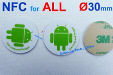 5x NFC Tag Stickers NTAG203 Sony HTC LG Samsung Huawei Xiaomi OPPO Vivo Android