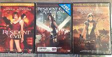 Resident Evil Trilogy Lot! Tested! Works!