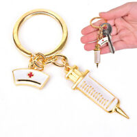 1pc Key Chain Nadel Spritze Stethoskop Thermometer Cute Key ChainSchmuckGesc sf