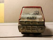 1968 Marx Toy Red Pickup Truck