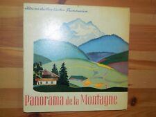 Album du Père Castor: Panorama de la Montagne 1938 , bel état de ce gd panorama