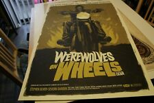 Mondo Werewolves on Wheels Poster by Justin Erickson