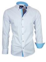 Hemd Herrenhemd Shirt Langarm Oberhemd Binder de Luxe Weiß 82311