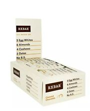 RXBAR, Coconut Chocolate, Protein Bar, 1.83 Ounce Pack of 12 Bars Exp 10/18/2020