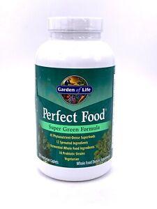 Garden of Life, Super Green Formula, Perfect Food, 300 Vegetarian Caplets