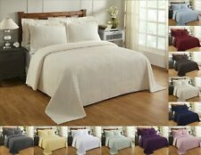 Better Trends Julian 100% Cotton Tufted Chenille Bedspread Assorted Sizes Colors