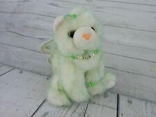 """2001 Aurora Catapillers Green Cat Plush 9"""" Stuffed Animal Fairy Kitten Princess"""