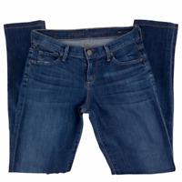 Citizens Of Humanity Womens Avedon Low Rise Blue Skinny Leg Denim Jeans Size 25