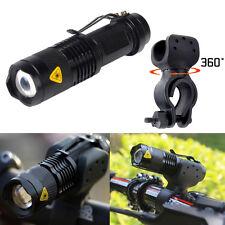 1200lm Cree Q5 LED Bike Cycling Bicycle Head Front Flashlight Light w/ 360 Mount
