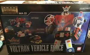 Voltron Vehicle Force Miracle Metal Works MA-01 Improved version