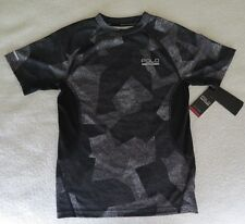 Polo Sport Boys' Soft Touch Camo Printed Grey T-Shirt - Size S - NWT