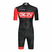 2020 T8U0J Road Racing Cycling Skinsuit Jumpsuit Conjoined Padded Size S/M/L/XL/
