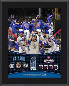 Cubs 2016 MLB World Series Champs 10.5x13 Plaque - Fanatics Authentic