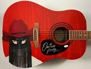 Orville Peck JSA Autograph Signed Guitar Epiphone Acoustic