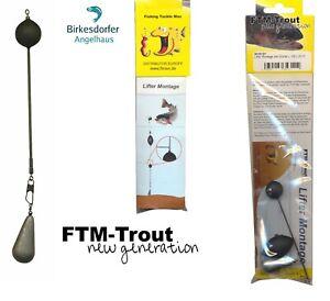 FTM Slider Knicklicht Pose alle Größen Tremarella Fishing Tackle Max Forelle