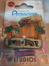 PIN Disneyland Paris ATT / Attraction TOUR DE LA TERREUR / Tower Of Terror OE