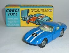 Corgi Toys No. 324, Marcos 1800GT, with Volvo Engine, - Superb Mint Model.