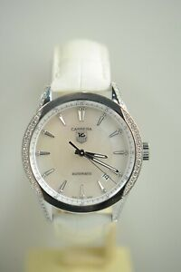 TAG HEUER CARRERA WV2212 Diamond MOP DIAL AUTOMATIC WATCH