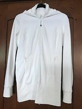 Lululemon White Daily Practice Hood Jacket 8 with tag