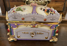 Disney Deluxe Sleeping Beauty Rare musical jewelry box