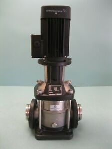 "2"" Grundfos CRNE10-02 Centrifugal Pump DIN/ANSI/JIS 1.5 HP Motor P17 (2726)"