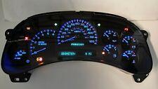 5I) 05-06 2005-2006 REBUILT 2500 GAS TRUCK/SUV COMPLETE BLUE LED SPEEDO CLUSTER