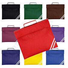 CLASSIC BOOK BAG - SCHOOL BAG - CASE - 8 COLOURS
