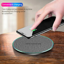 10W Qi Wireless Charger Fast Metal Charging Mat For iPhone 12 11 Samsung S20 S10