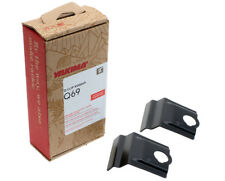 Yakima Q69 Q Tower Clips w/ A Pads & Vinyl Pads #00669 2 clips Q 69 NEW in box