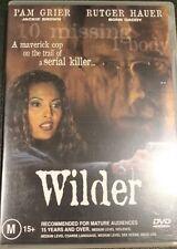 WILDER R4 DVD RARE OOP DELETED CULT DRAMA MOVIE PAM GRIER, RUTGER HAUER FILM