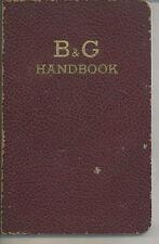NE-028 - B&G Handbook 1940 Bell Gossett Co Home Hot Water Heaters Handbook Vintg