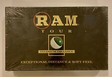 Ram Tour Titanium Distance Golf Balls (15 Golf Balls), New In The Box