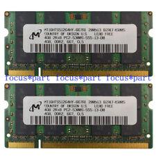 Nuevo Kit de 8 GB 2 X 4 Gb Pc2-5300s Ddr2-667mhz 200pin Sodimm Laptop Memoria Ram