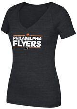 "Philadelphia Flyers Women's Adidas NHL ""Dassler"" Tri-Blend Premium T-shirt"