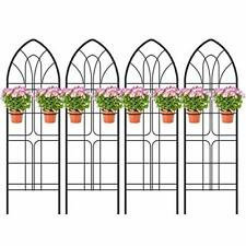 New ListingGarden Trellis Heavy Duty Rustproof Iron Metal for Potted Plants Support