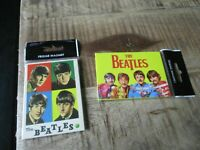 Beatles-Lot anciens magnets grands formats-Neufs-2009-Collection officielle