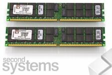 Kingston 8GB RAM Kit (2x4) PC2-3200R 400Mhz ECC Registered - KTM2865/8G