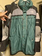The North Face Extreme Gear Jacket Green Exellent Condition Vintage Goretex