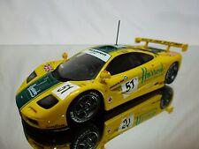 MINICHAMPS MCLAREN F1 GTR BMW - HARRODS - LE MANS 95 - WALLACE BELL - 1:43