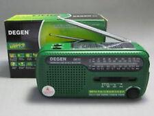 DEGEN DE13 MW/SW World Band Environmental Radio (Green)