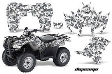 ATV Graphics Kit Decal Sticker Wrap For Honda Rancher AT 2007-2013 DIGICAMO WHT