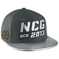 Notre Dame Fighting Irish Nike New Snapback hat 2013 National Championship Game