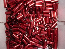 (0,40 € Stück )  10  Endkappen rot für 4 mm Außenhülle