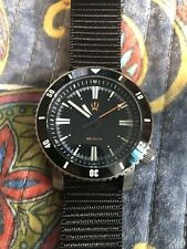 Maratac Titanium X1 SR-35 Automatic Dive Watch and Nylon Black Zulu Strap