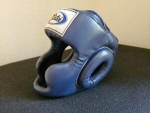 FAIRTEX COMPETITION HEAD GUARD  MUAY THAI KICK BOXING MMA HEADGEAR (Size Large)