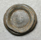 Civil War Relic Heavy Gauge Pewter or Tombac Cavalry Rosette with Wreath Design