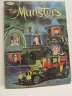 1965 128 PAGE MUNSTERS TV SHOW COLORING BOOK  BY WHITMAN