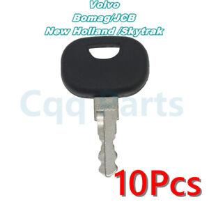 10pcs Fits Volvo 14603 Key Bomag JCB Linde New Holland Skytrak 85804675 sandbox