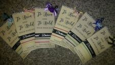 3 WEDDING BRIDESMAIDS  SMALL THANK YOU GIFT TO HAVE AND TO HOLD